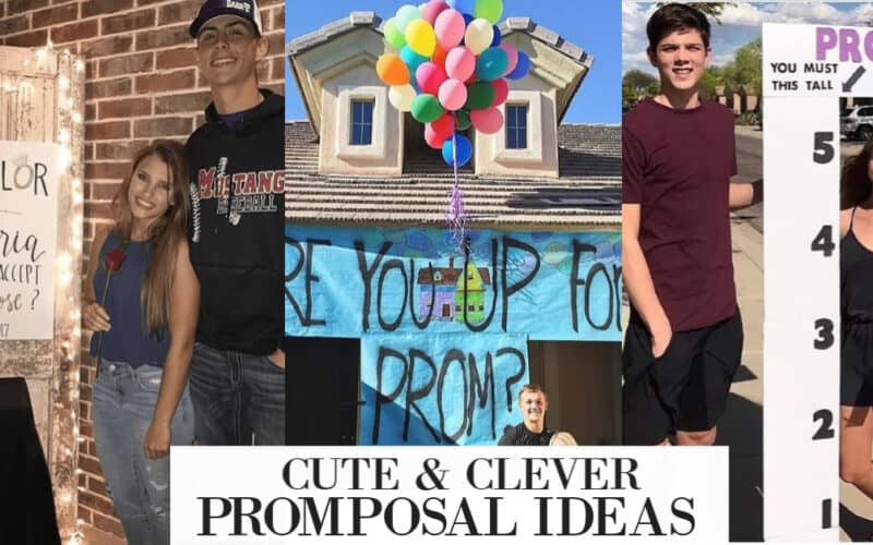 12 Cute Promposal Ideas to Get a Yes to Prom