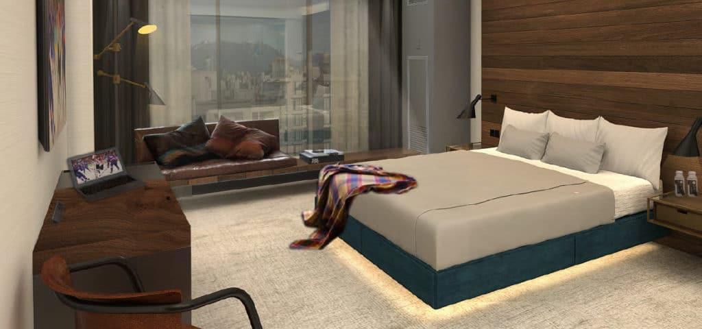 douglas hotel vancouver bedroom