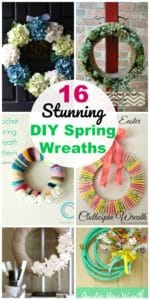 diy spring and summer wreaths
