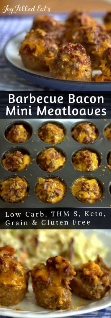 bbq bacon mini meatloaf pin