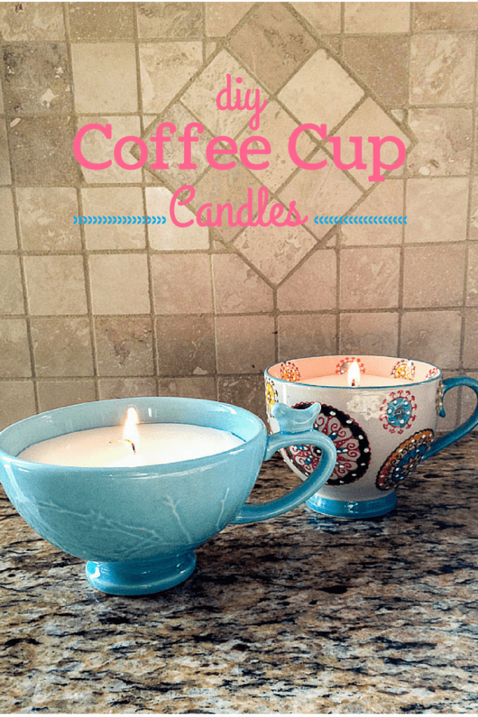 how to make a diy candle mug