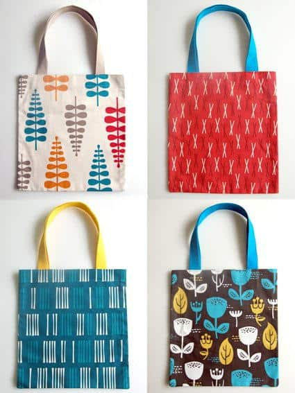 diy 20 minute tote bag