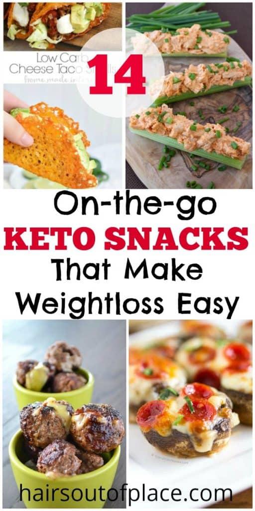 keto snacks on the go