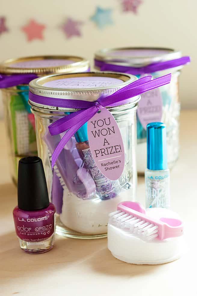 diy pedicure in a jar