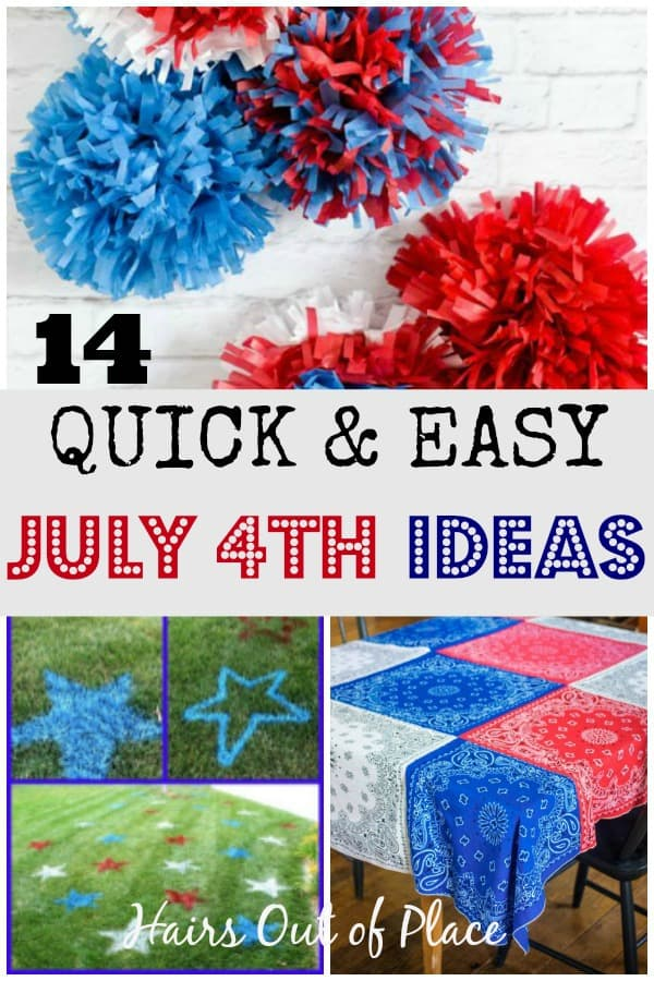 red white and blue craft ideas