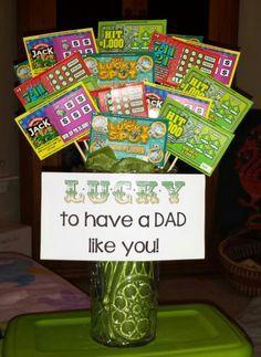 lottery gift basket idea