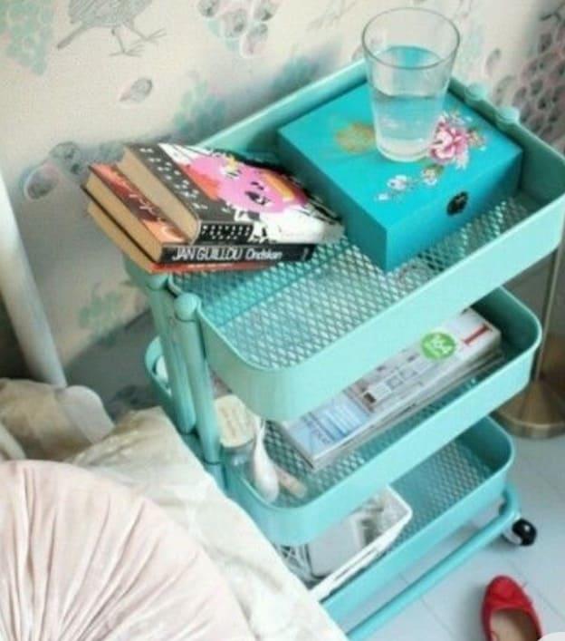 Bedroom Storage cart ideas