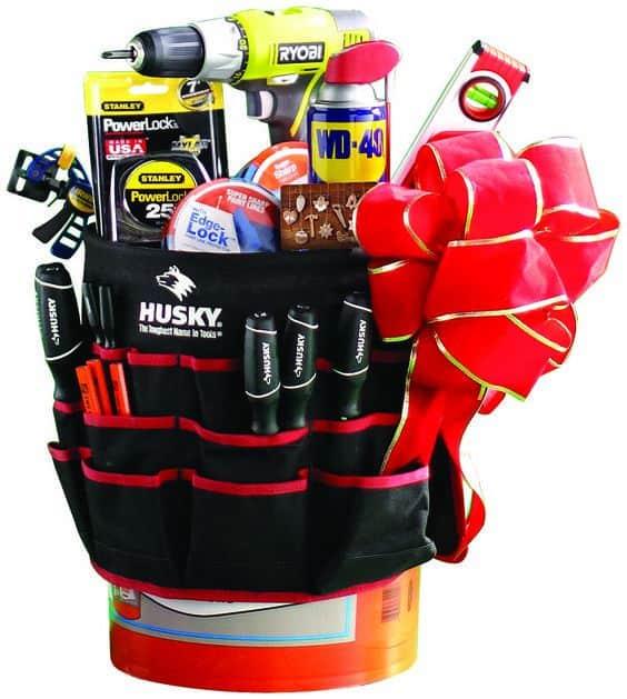 tools gift basket ideas for men
