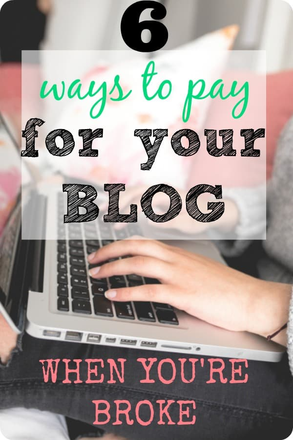 how to pay for a blog