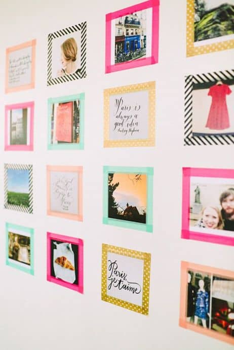 photo project ideas with wasabi tape