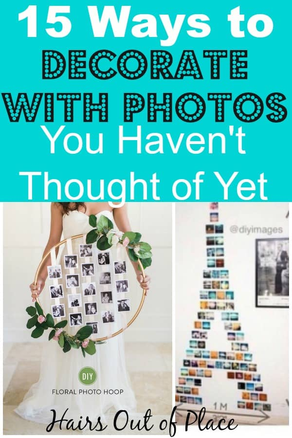 15 ways to decorate with photos
