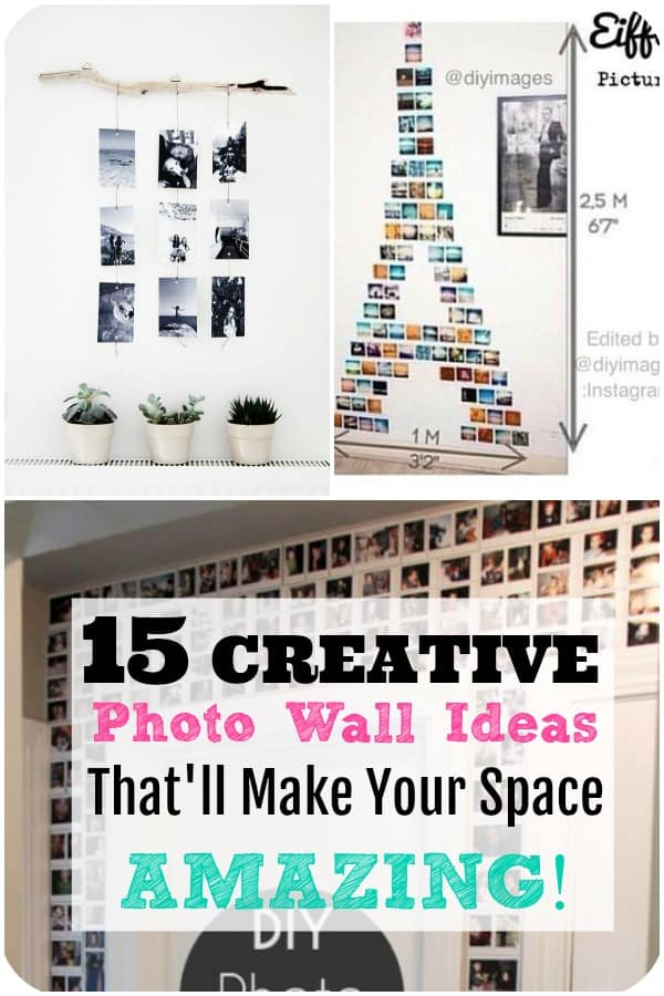 decorating your walls with photos