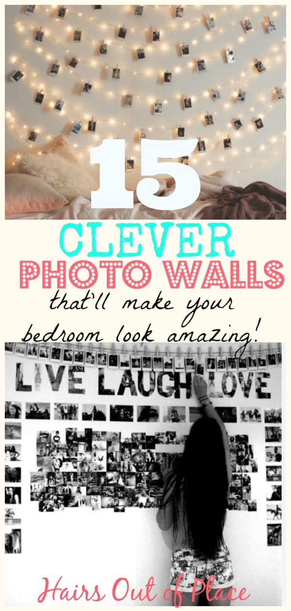photo wall ideas for your bedroom