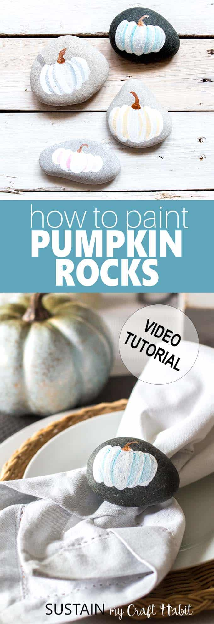 painted rock ideas for fall