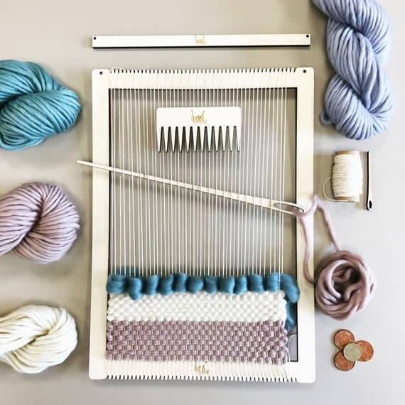 woven wall hanging kit for beginners