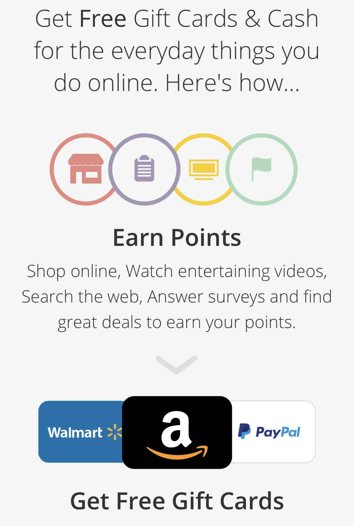 earn swagbucks gift cards