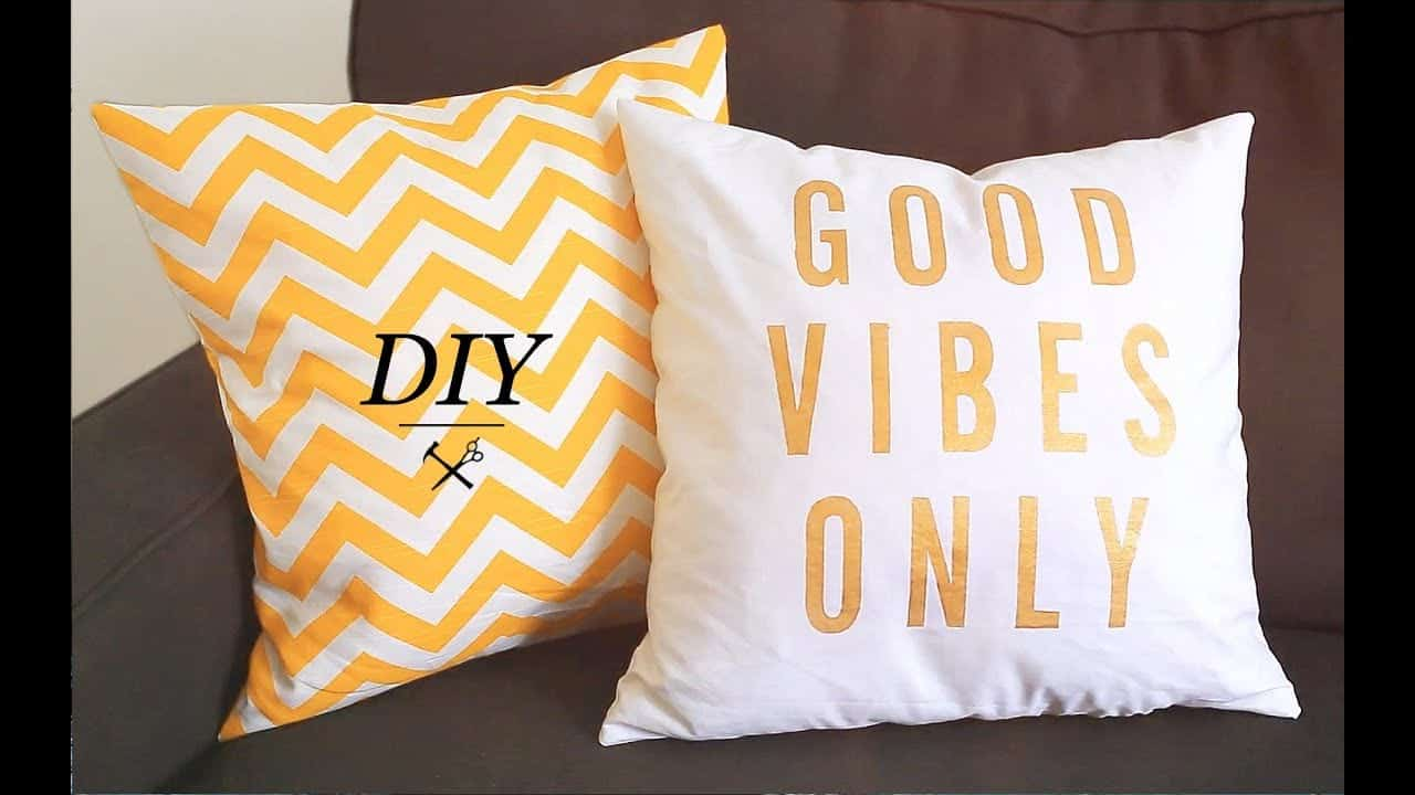 teenager arts and crafts pillows to make