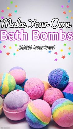 rainbow bath bomb recipe are crafts for teen girls