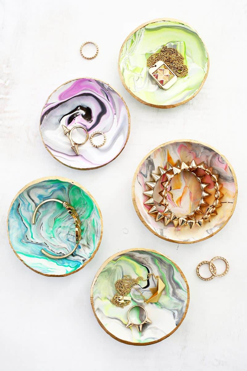 DIY Clay Jewelry Dish is a great DIY teen craft