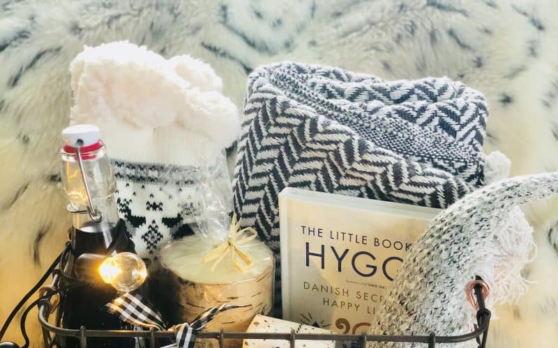 A Hygge Gift Basket That'll Make Someone Snuggly this Winter