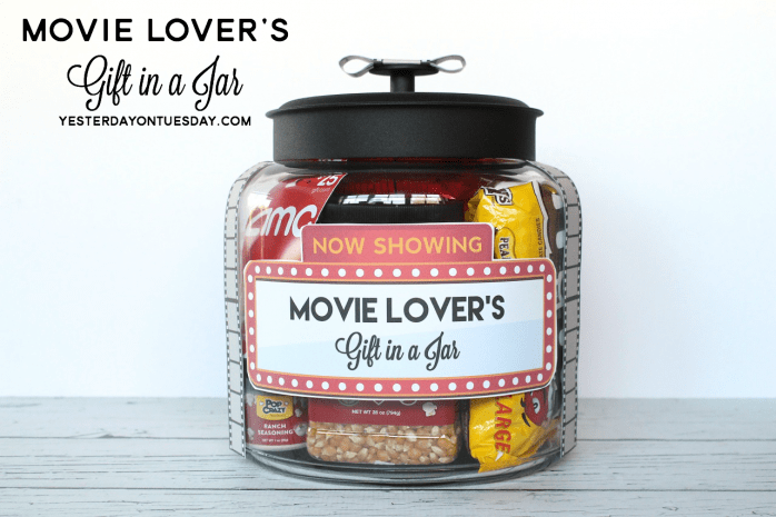 movie jar gift