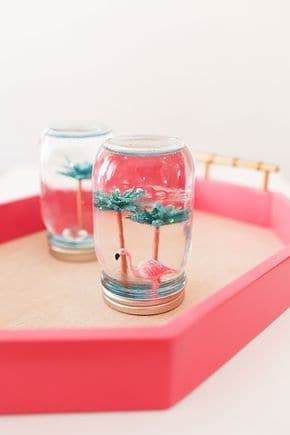 diy waterless snow globe is a diy crafts for teens