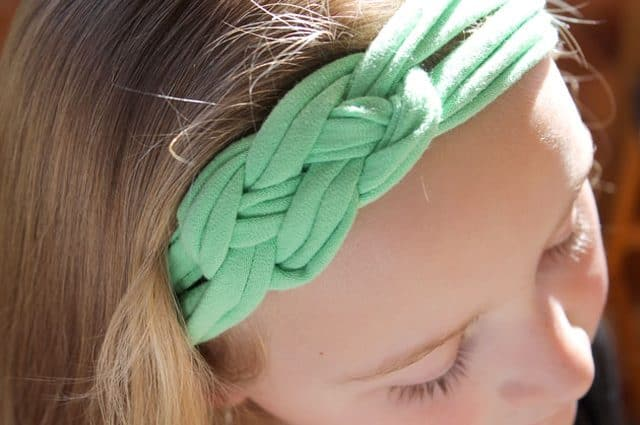 how to make a t-shirt headband for diy crafts for teenagers