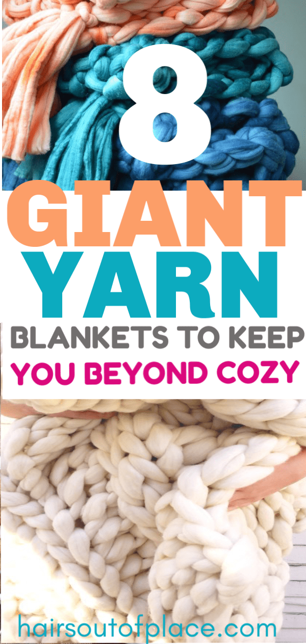 8 giant yarn blankets that are the best chunky knit blankets to buy