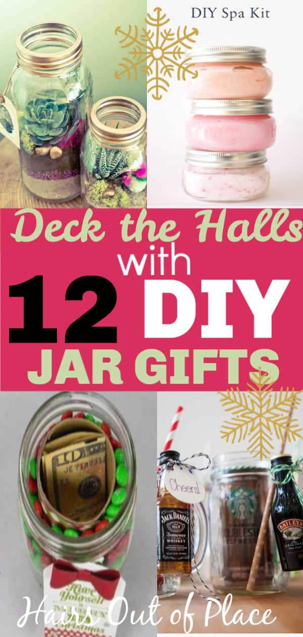 12 DIY jar gifts for Christmas