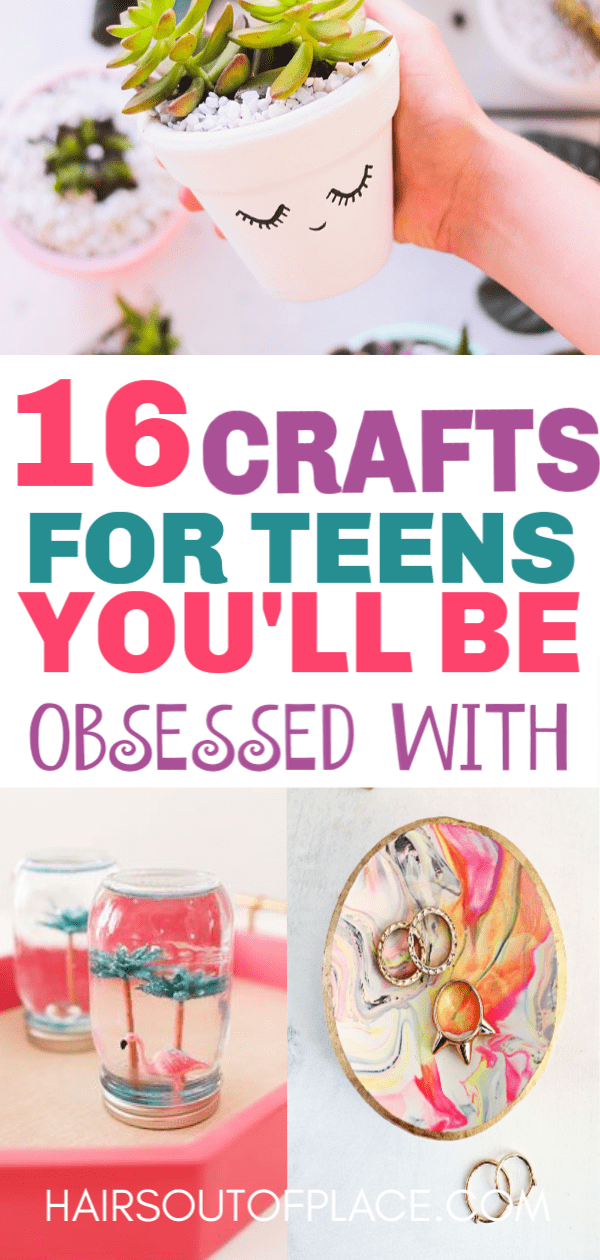 16 DIY Crafts for Teen Girls