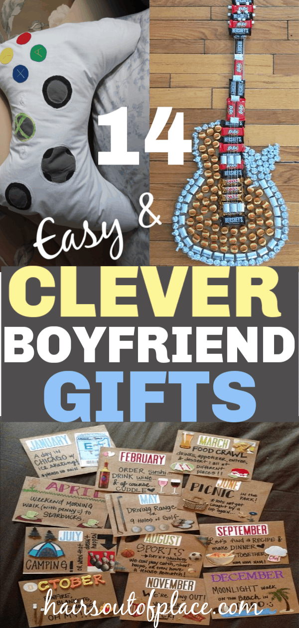 20+ Amazing DIY Gifts for Boyfriends
