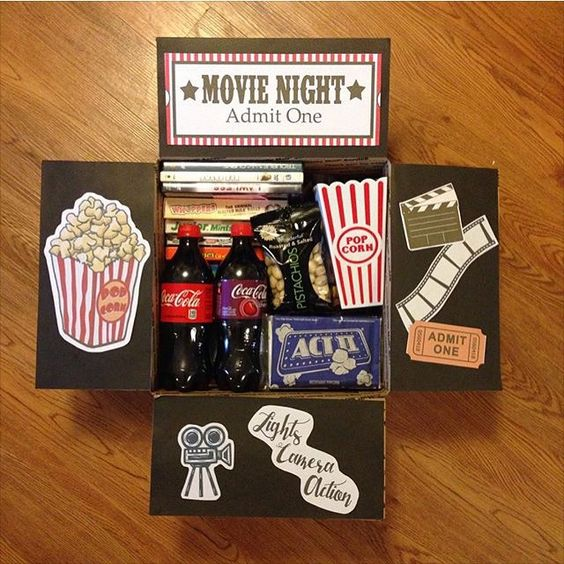 movie night care package
