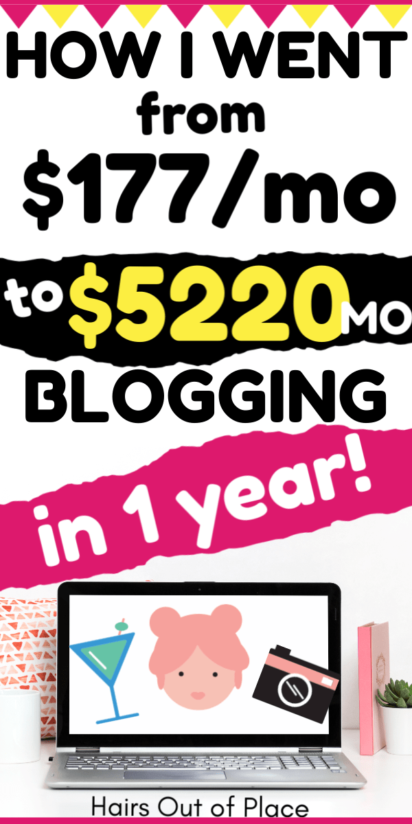 Blog Income Report- How I made $5220 Blogging in Nov 2018