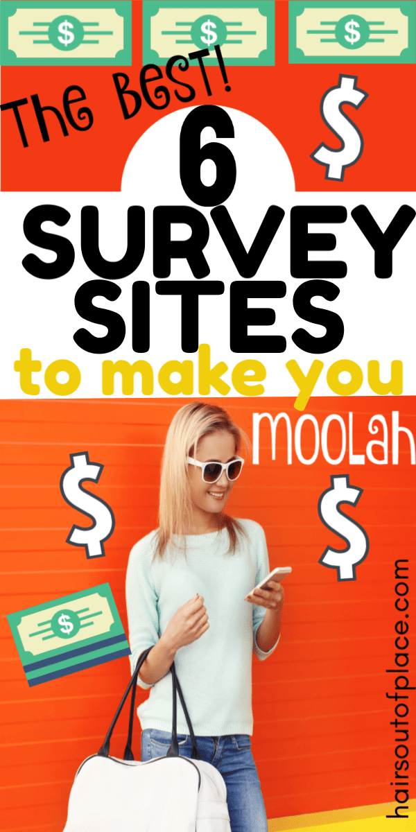 6 surveys for money sites that pay cash