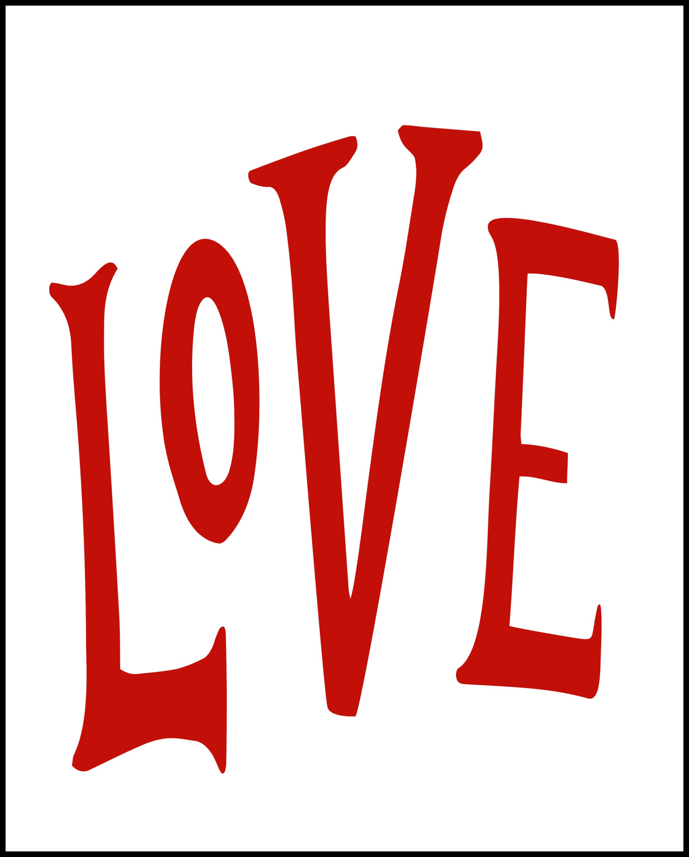 Valentines Love Printables