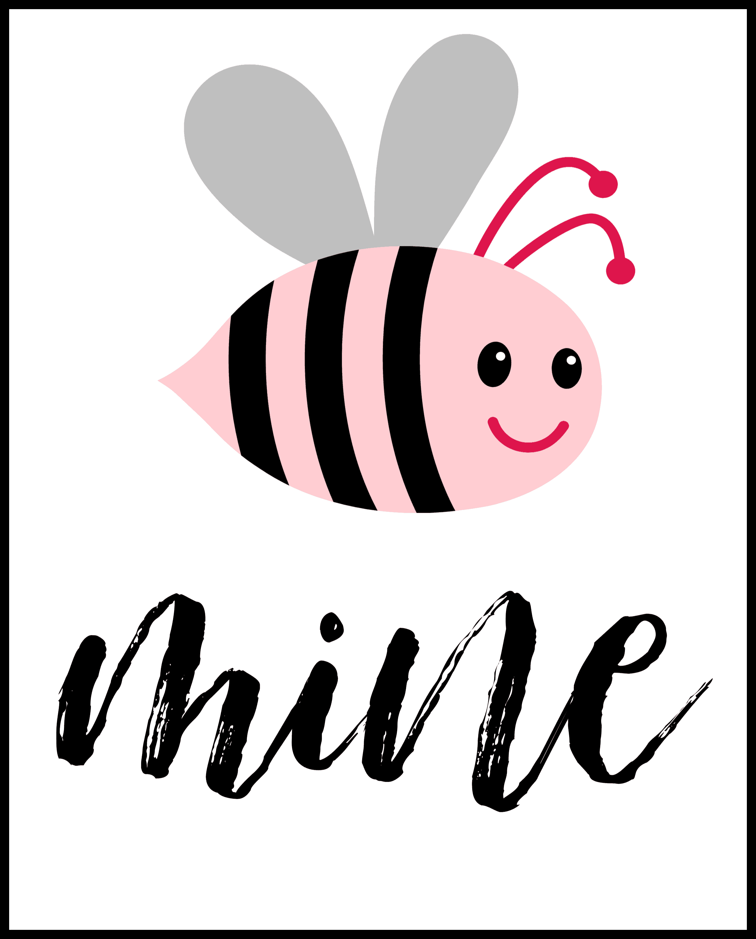 be mine valentines day printables