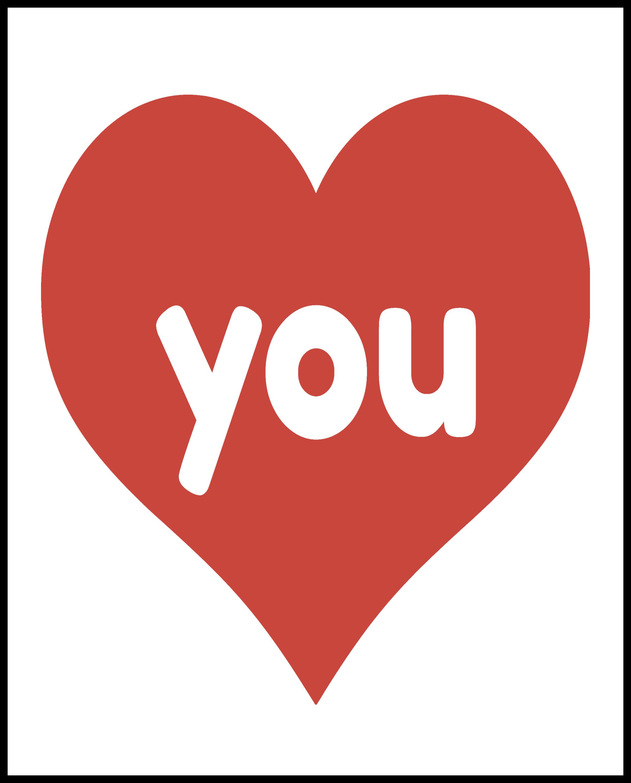 love you valentines printables