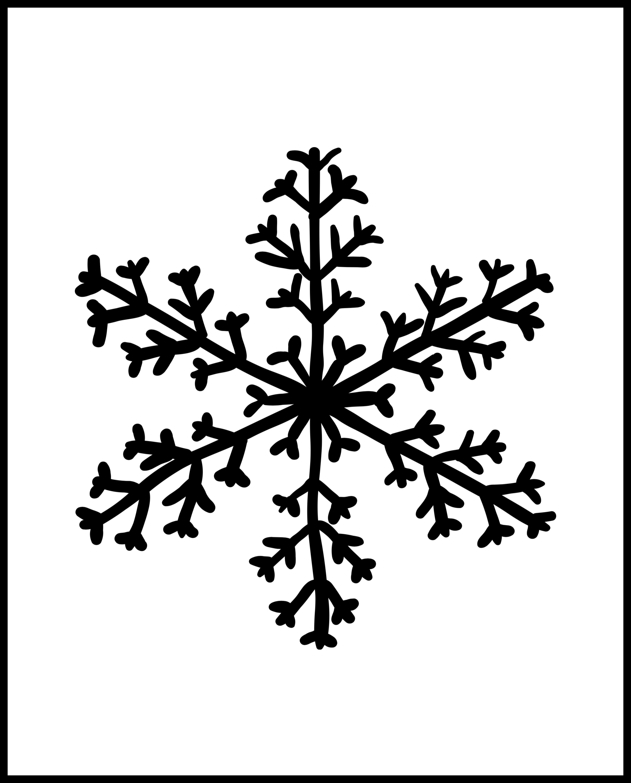 snowflake wall art