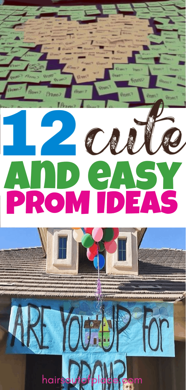 12 promposals that make the best prom ideas for him or her