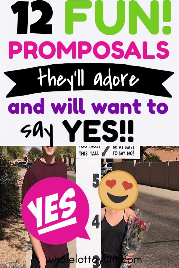 12 promposal ideas that are cute and easy