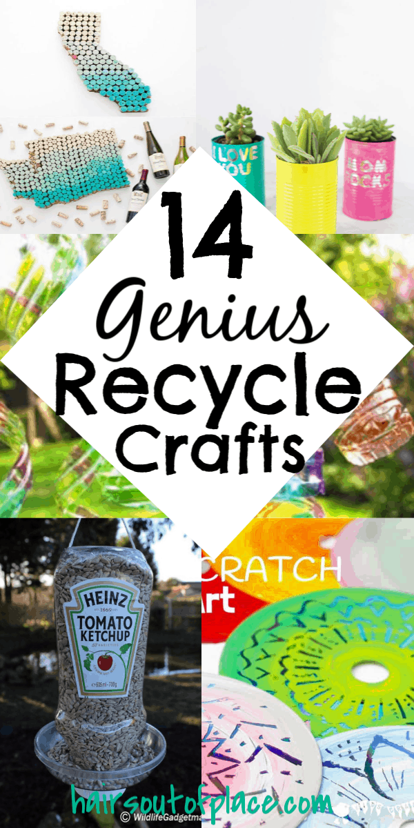 14 easy recycle craft projects