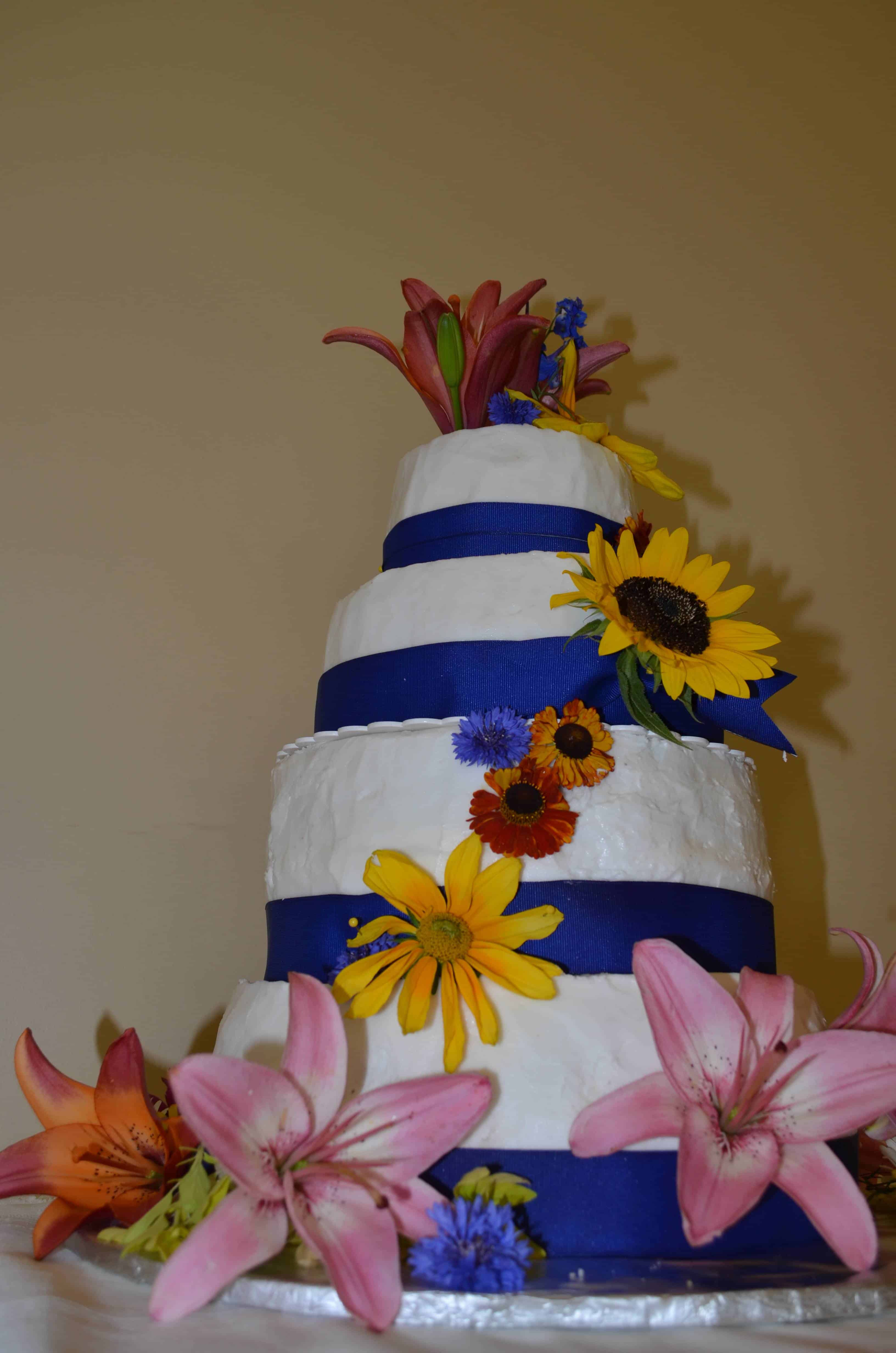budget wedding cake
