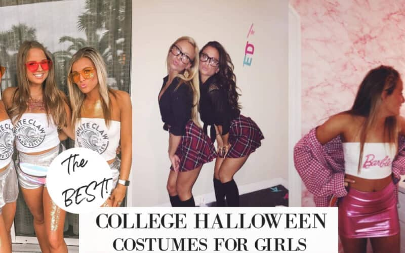 30+ BEST College Halloween Costumes for Girls