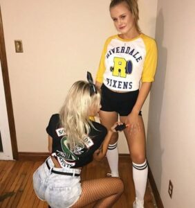 girl college halloween costumes