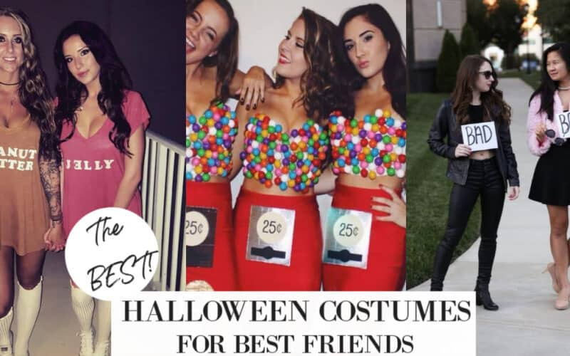 The 30 BEST Halloween Best Friend Costumes