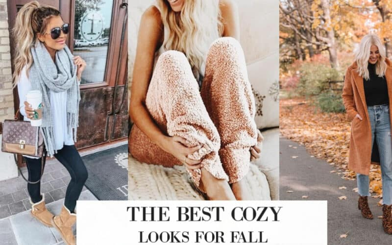 cozy fall looks