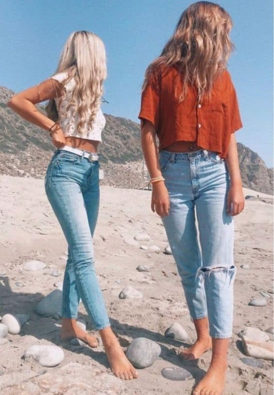 vsco girl outfits for summer