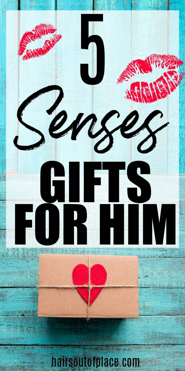 5 senses gifts for boyfriend