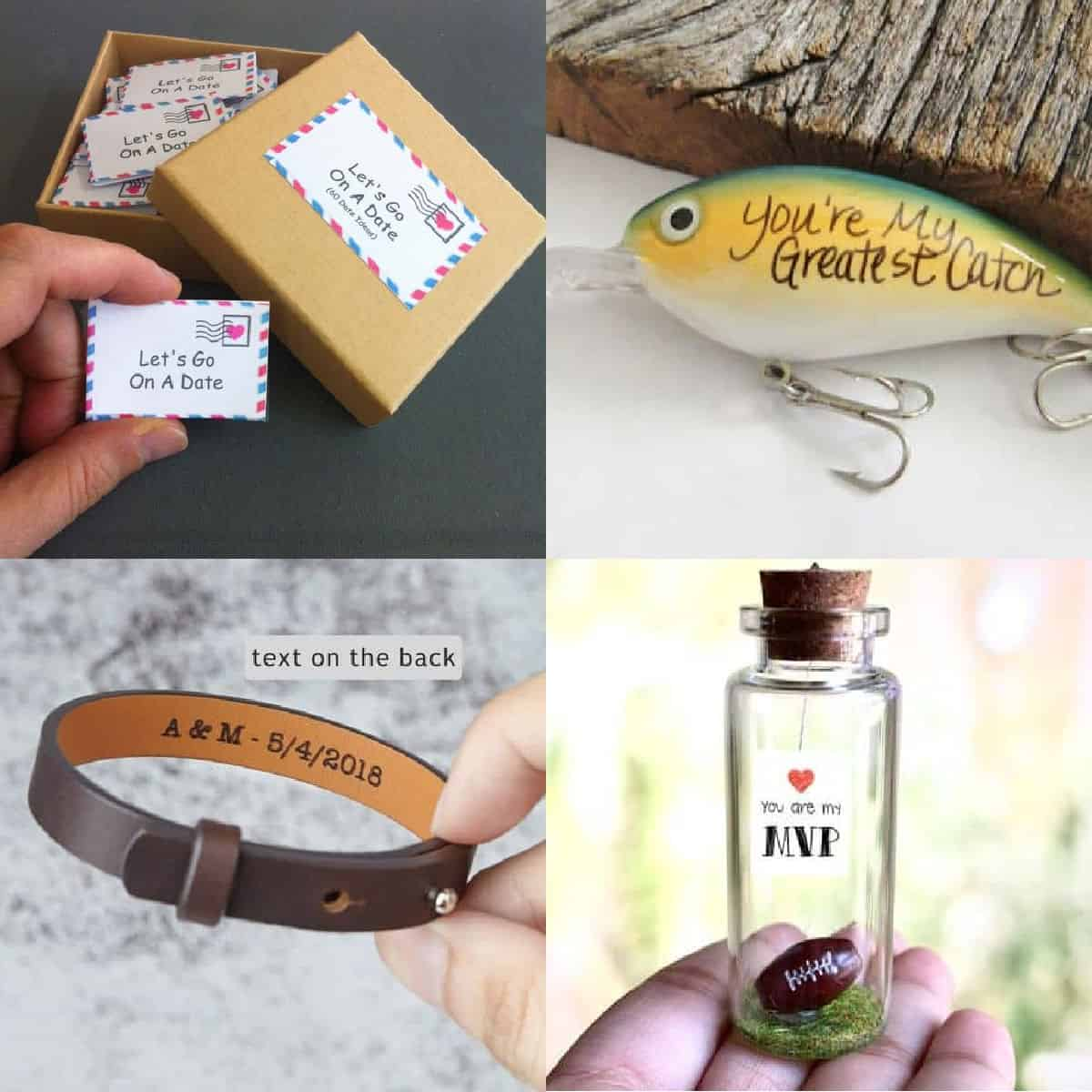 thoughtful christmas gifts for boyfriend collage