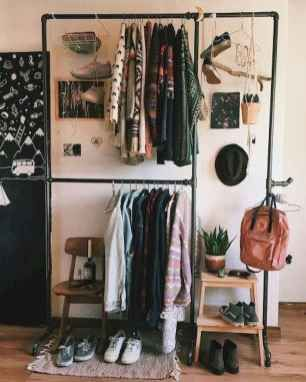 organizing a dorm room with extra closet space is essential if you have lots of clothes